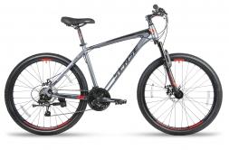 SENSE Велосипед RAPID  DISC 260 Серый/красный S (2018)