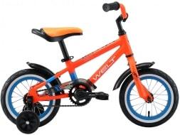 WELT Велосипед Dingo 12 2021 Orange/blue (US:one size)