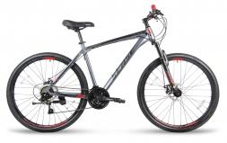 SENSE Велосипед RAPID PRO DISC 275 Серый/красный L (2018)