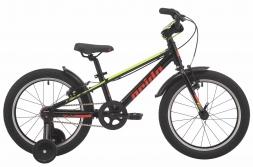 PRIDE Велосипед Rider 18 Черный/голубой/красный (2019)