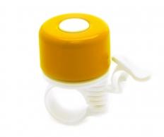 VINCA SPORT Звонок велосипедный d35мм, желтый YL 11