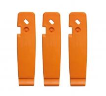 SKS Монтировки 0-11627 пластиковые SKS-11627 с крючками эргон. (комплект 3шт) оранж. Германия