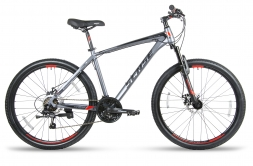 SENSE Велосипед RAPID  DISC 260 Серый/красный M (2018)