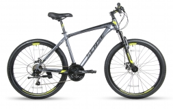 SENSE Велосипед RAPID  DISC 260 Серый/желтый M (2018)