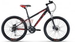WELT Велосипед  Peak 24 1.0 HD черный/красный (2020)