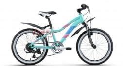 WELT Велосипед Edelweiss 20 Голубой (2020)