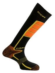 MUND Носки 317 Carving носки (L 41-45, 12/15-черный/оранжевый)
