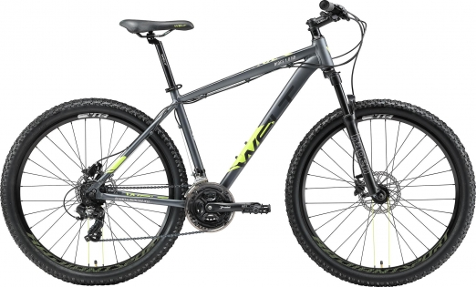 WELT Велосипед Ridge 1.0 HD 27 2021 Dark grey (US:L)