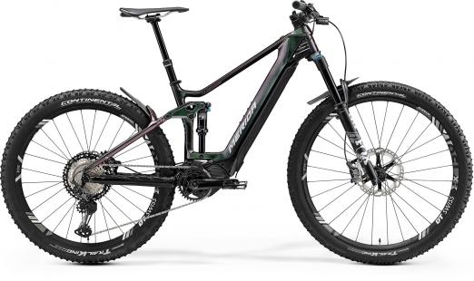 MERIDA Велосипед eOne-Forty 9000 Р:XL(47cm) CandyGreen/Black (2021)