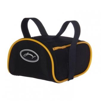 ACOOLA Велосумка под седло, цвет чёрный/жёлтый