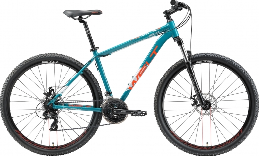WELT Велосипед Ridge 1.0 D 27 2021 Marine blue (US:M)