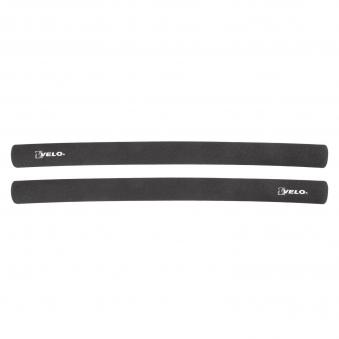 VELO Ручки 5-410392 на руль полиуретан ДЛИННЫЕ 400мм с заглушками черные (на блистере) NEW
