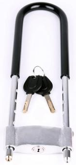 VINCA SPORT Замок велосипедный - скоба с держателем 90*305мм, инд.уп. VS 8106