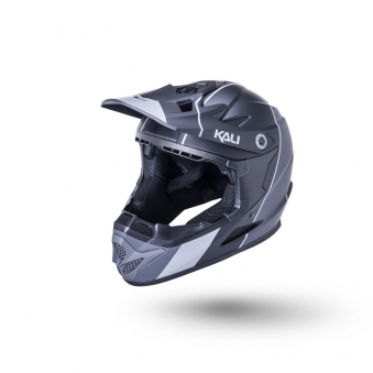 KALI Шлем Full Face DH/BMX Zokaмат/ черн./серый (50-51см)