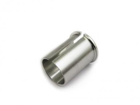 AUTHOR Адаптер  алюм. для подсед. штыря KL-001 27,2/30,0х50мм серебр.