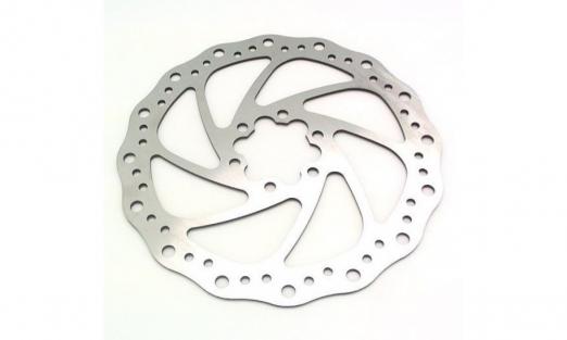 BARADINE Ротор для ДТ Ø160мм, c 6 болтами, нержавеющая сталь DB-02 (2017)