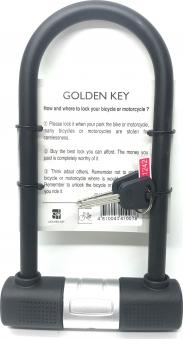 Замок-скоба Golden Key GK104.504 140*245 мм с крепежом