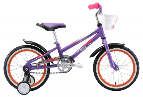 WELT Велосипед Pony 16 2021 Magenta/Violet (дюйм:8)