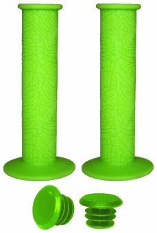 VINCA SPORT Грипсы H-G 60 light green резиновые  , длина 120 мм, зеленые, инд. упаковка