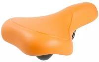 M-WAVE Седло (5-067) комфорт 262х156мм спец. наполн. суперпрочн. покр. 398г оранжевый EVA CITY(2017)