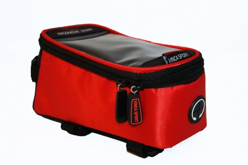 VINCA SPORT Сумка на раму FB 07-2M отд. для телефона, отв под наушники,190*90*95 мм красная (2019)