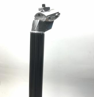 VLX Штырь-крюк подседельный VLX-SP01 алюм, Ø30,9х400мм, чёрный. VLX лого