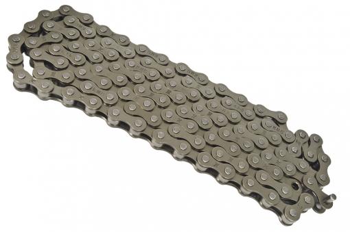 KMC Цепь Z33 для 6-7 скоростей, серебристо- коричневая 1/2x3/32\
