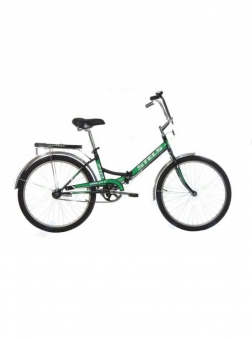 STELS Велосипед Pilot 710 черный/зеленый 2019