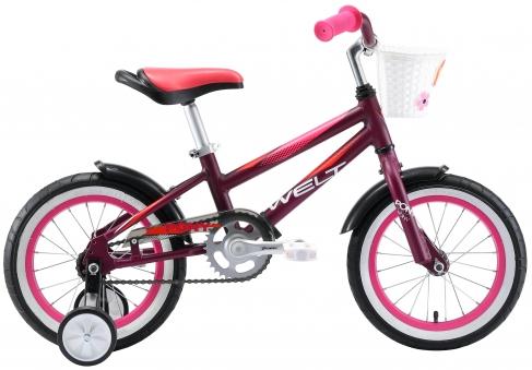 WELT Велосипед Pony 14 2021 Violet/pink (US:one size)