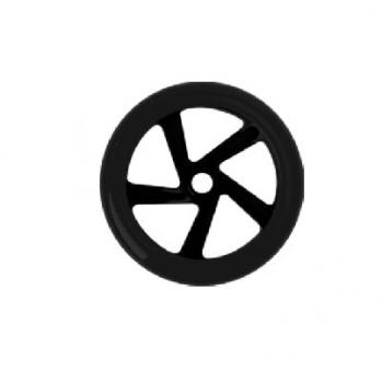 PRIME Колесо для самоката 145 с подшипниками Abec7 (Цвет Черный)