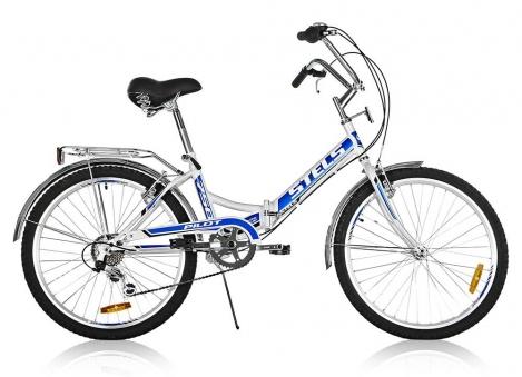 STELS Велосипед Pilot 750 белый 2019