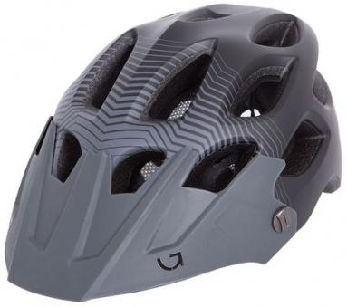 Шлем Green Cycle Slash Black/Grey 54-58см