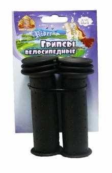 VINCA SPORT Грипсы детские H-G 96 black длина102мм, материал -  резина, цвет - чёрный (2017)