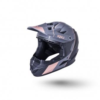 KALI Шлем Full Face DH/BMX Zoka мат/ черн./бронз (54-56см)