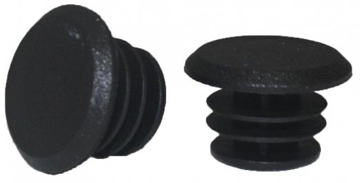 VINCA SPORT Заглушка руля полиэтиленовая черная H-G P1 (1шт)