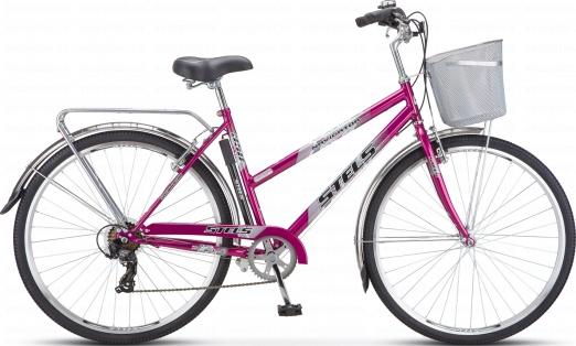 STELS Велосипед Navigator-350 Lady 28 фиолетовый