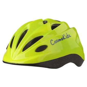 LOS RAKETOS Велосипедный шлем CRISPY SHINY YELLOW XS (48-50cm) арт 48106