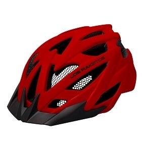 LOS RAKETOS Велосипедный шлем RAPID Red S-M  (55-58) арт 47438
