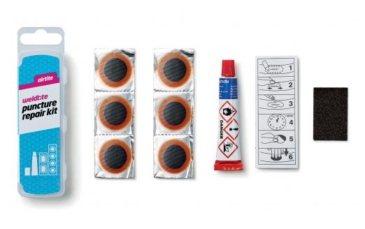 WELDTITE Аптечка 7-01016 6 суперзаплаток+клей+шкурка