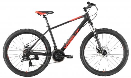 WELT Велосипед Peak 26 Disc 2021 Matt black (дюйм:14,5)