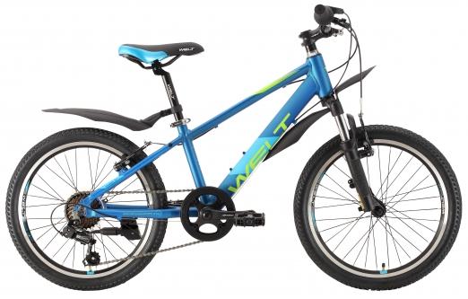 WELT Велосипед Peak 20 2021 Matt blue (US:one size)
