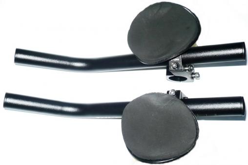 Руль/лежак (6-615880)  алюминий 6061 31,8мм. черный