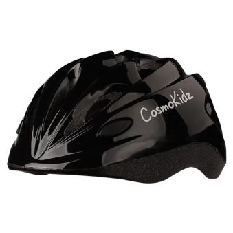 LOS RAKETOS Велосипедный шлем CRISPY SHINY BLACK S (50-52cm) арт 48110