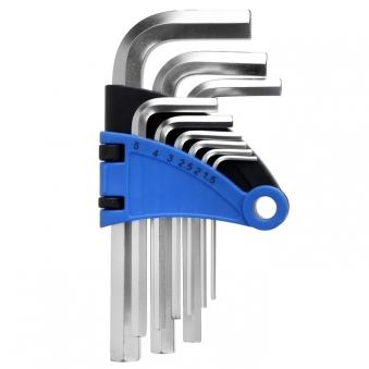Набор ключей шестигранников TUNDRA comfort, CrV 1.5 - 10 мм 9 штук