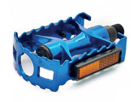 VINCA SPORT Педали VP 04A алюминиевые, платформа 95*65мм, ось 9/16\'\',  синие, инд. уп.