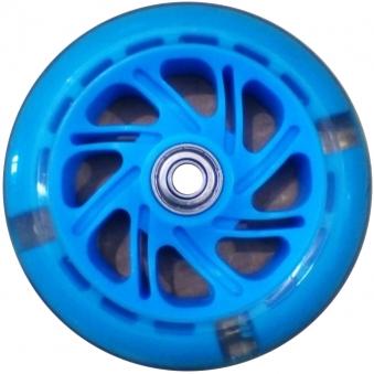 VINCA SPORT Колесо светящееся для самоката, голубое SC 01 LB