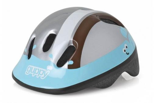 POLISPORT  Шлем  детский P3 Guppy, голубой/коричневый, р.XXS 8739400005 (2016)