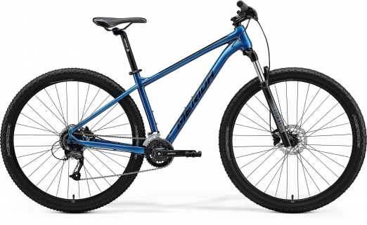 MERIDA Велосипед Big.Nine 60-3x Синий Size:L (2021)