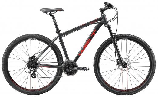 WELT Велосипед Ridge 2.0 HD 27 2021 Matt black (US:L)