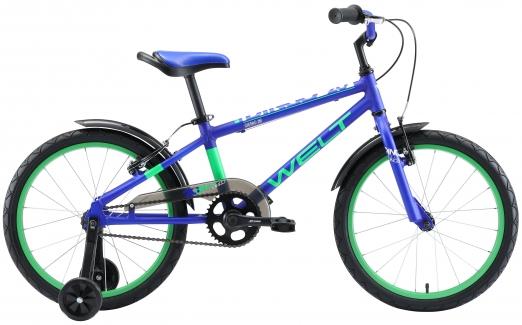 WELT Велосипед Dingo 20 2021 Dark blue/green (US:one size)